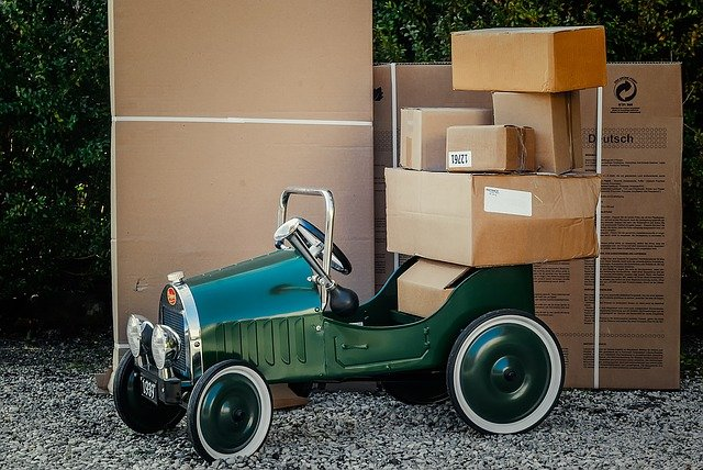 package, boxes, cartons, cans, bottles, bags, envelopes, wrappers, and containers