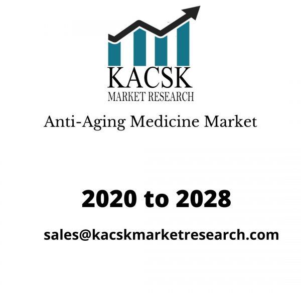 Anti-Aging Medicine Market